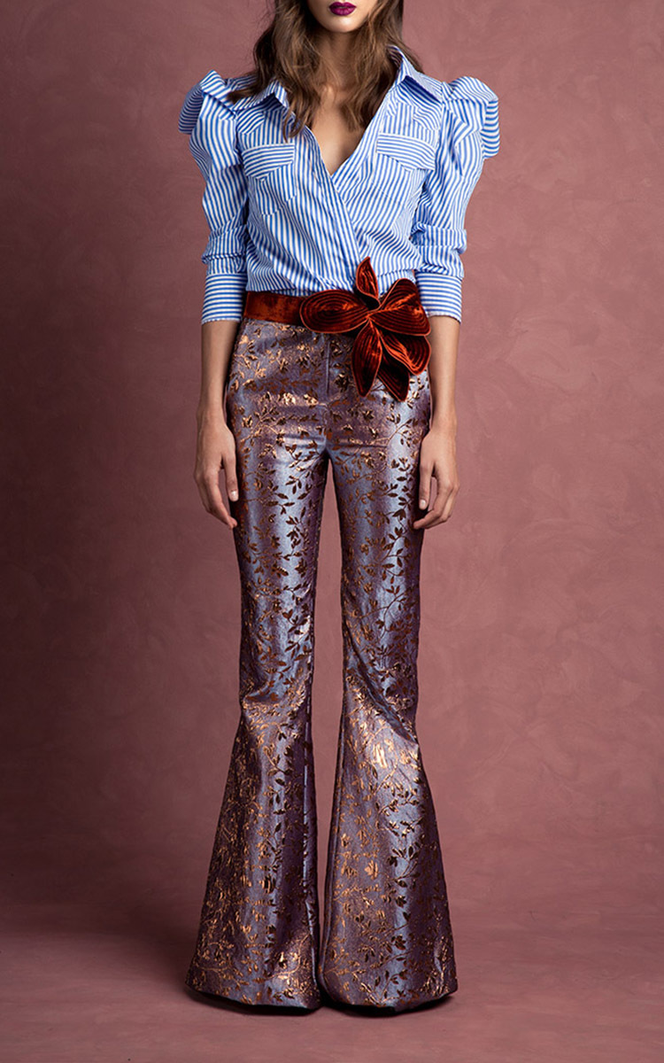 Sethe Embroidered Button Up Shirt By Johanna Ortiz Moda