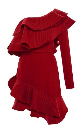 Medium johanna ortiz red georgiana cavendish single sleeve dress