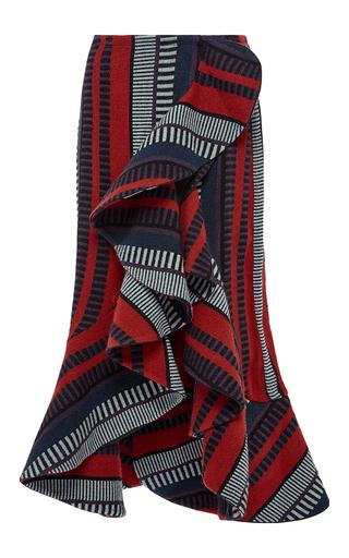 Medium johanna ortiz print alexia ruffled wrap skirt