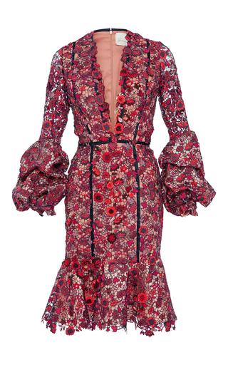 Medium johanna ortiz red anne boleyn embellished dress