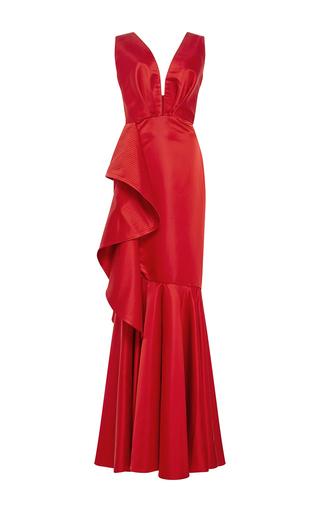 Medium johanna ortiz red princess victoria mermaid gown