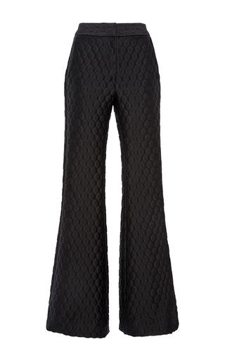 Medium johanna ortiz black dixie jacquard pants