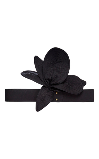 Medium johanna ortiz black ivy lexton flower belt  5