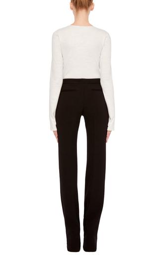 Long Sleeve Overlap Bodysuit by PROTAGONIST Now Available on Moda Operandi