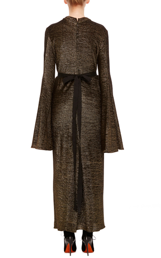 Gasp Jersey Flute Sleeve Dress by ELLERY Now Available on Moda Operandi