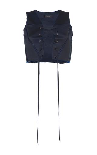 Medium ellery navy frieda vest corset