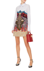 Steal Print Jacquard Shirt Dress by MARY KATRANTZOU Now Available on Moda Operandi