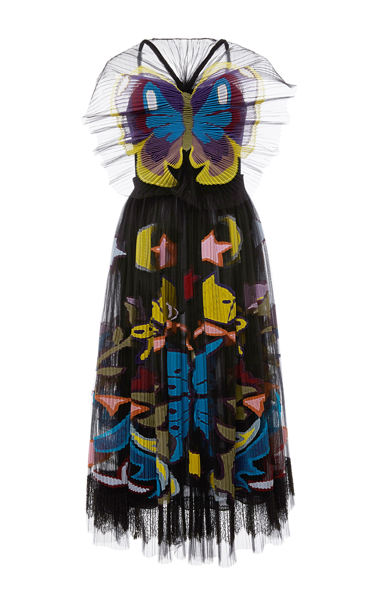 216feaba Monroe Butterfly Print Tulle Dress by Mary Katrantzou | Moda Operandi