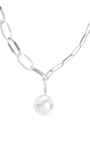 Silver Ball And Chain Necklace by ISABEL MARANT Now Available on Moda Operandi