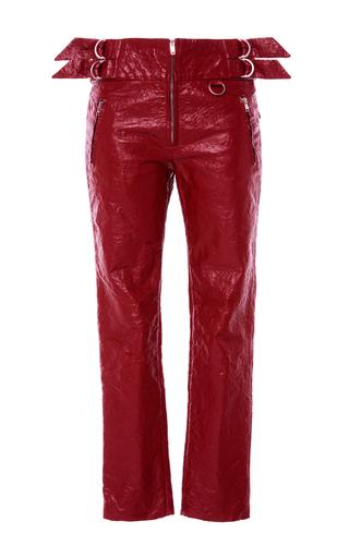 Medium isabel marant red red bonnya slim fit trousers