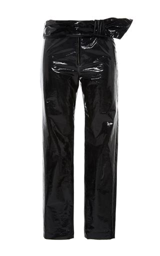 Medium isabel marant black black alex slim fit trousers