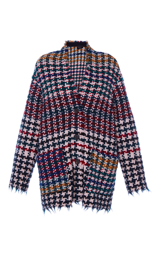Medium isabel marant red diana midi oversized jacket