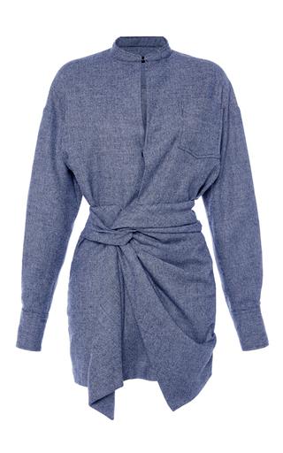 Medium isabel marant black khol long sleeve dress