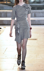 Kinsley Ruched Slim Fit Dress by ISABEL MARANT Now Available on Moda Operandi