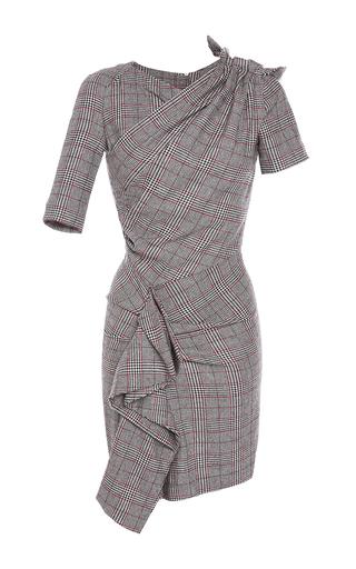Medium isabel marant light grey kinsley ruched slim fit dress