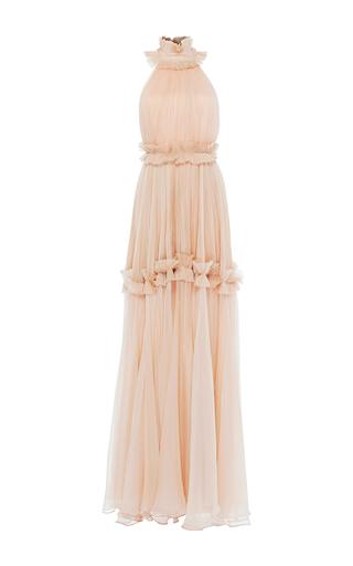 Medium maria lucia hohan pink sahara meallique chiffon dress