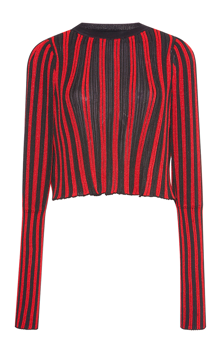 4ebc98e863 Vertical Ribbed Striped Pullover by Sonia Rykiel | Moda Operandi