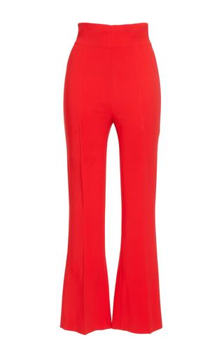 Medium antonio berardi red high waisted flared trousers  4