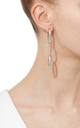 Silver Chain Link Earrings by ISABEL MARANT Now Available on Moda Operandi