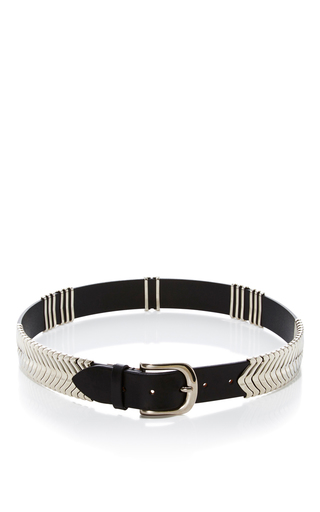 Medium isabel marant black faithful belt