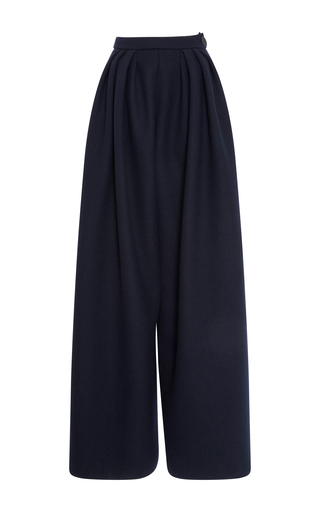 Medium maison rabih kayrouz navy navy flannel trousers