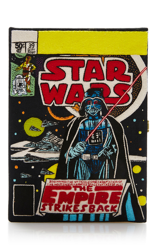 Medium olympia le tan black the empire strikes back clutch