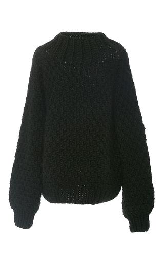 Medium i love mr mittens green moss stitch turtleneck sweater