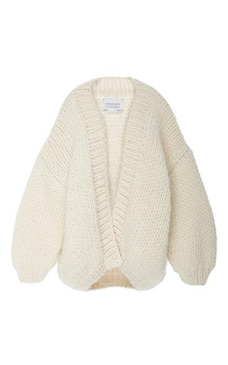 Medium i love mr mittens off white slouch knit cardigan