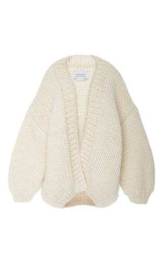 Medium i love mr mittens off white slouch knit cardigan