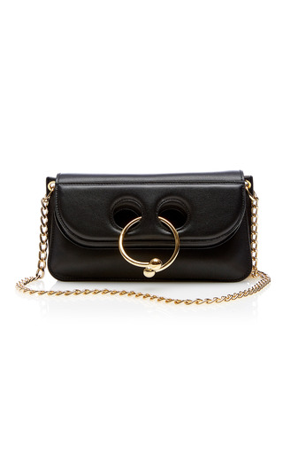 Medium j w anderson black small pierce bag