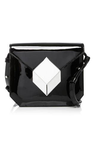 Medium pierre hardy black white prism shoulder bag