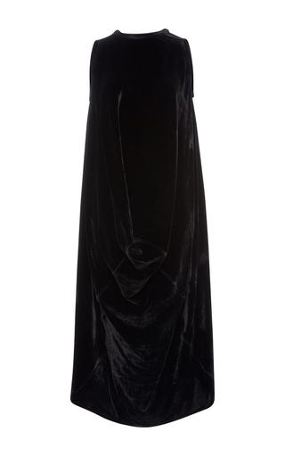 Medium rick owens black velvet le brea top