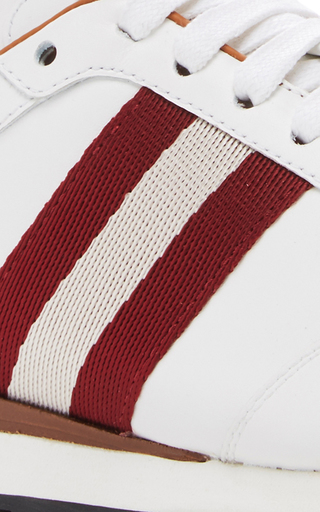 Ashlie Lace Up Sneakers by BALLY Now Available on Moda Operandi