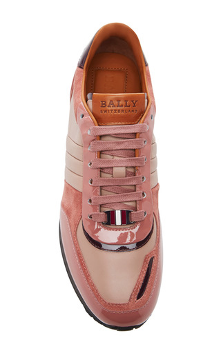 Asyia Lace Up Sneakers by BALLY Now Available on Moda Operandi
