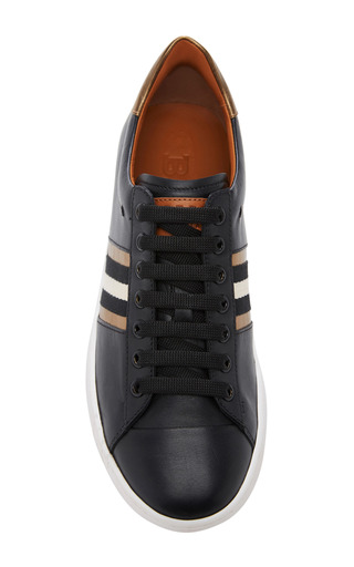 Wiolet Lace Up Sneaker by BALLY Now Available on Moda Operandi