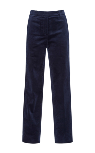 Medium philosophy di lorenzo serafini navy tapered trousers