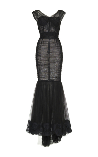 Sleeveless Mermaid Dress by DOLCE & GABBANA Now Available on Moda Operandi