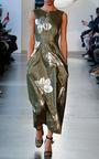 Metallic Lame Midi Dress by SUNO Now Available on Moda Operandi