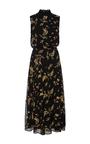 Sleeveless Floral Midi Dress by SUNO Now Available on Moda Operandi