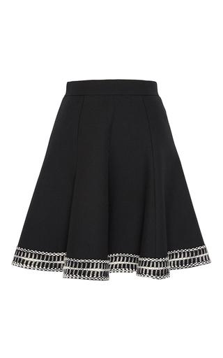 Medium andrew gn black a line mini skirt