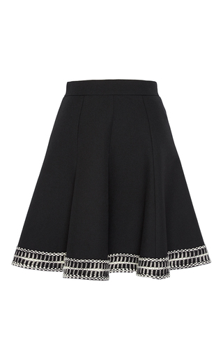 Medium andrew gn black a line mini skirt