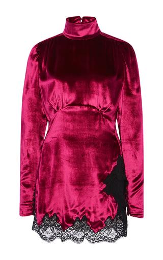 Medium alessandra rich pink baby doll dress