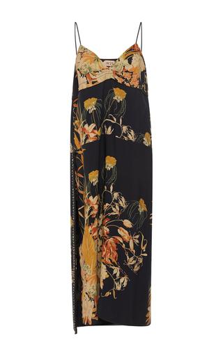 Medium no 21 floral andrea botanical floral dress