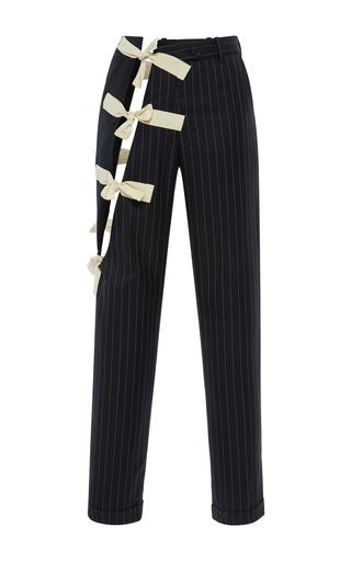 Medium jacquemus navy tied combo trouser