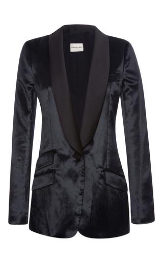 Medium emanuel ungaro black shawl collar tailored blazer
