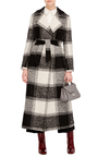 Checked Trench Coat by MARTIN GRANT Now Available on Moda Operandi