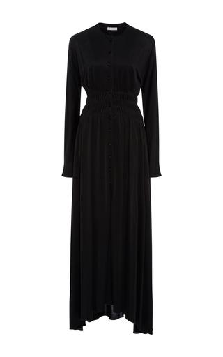 Medium j w anderson black long sleeve maxi dress