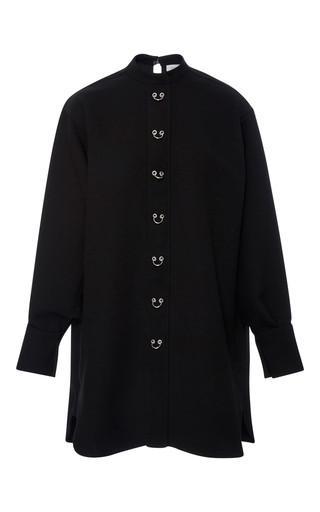 Medium j w anderson black oversized shirt dress