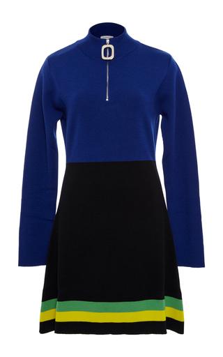 Medium j w anderson blue color block mini dress