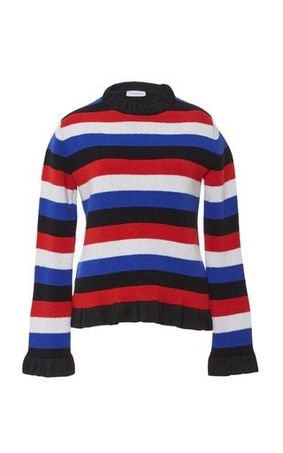 Medium j w anderson stripe striped boucle sweater